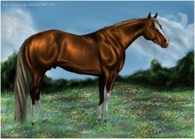 Flaxen Beauty by equinewoods