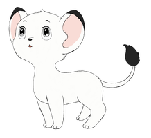 Kimba the White Lion/Jungle Emperor Leo by Angelkitty17