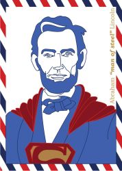 American Heroes - Abraham 'man of steel' Lincoln by Heliinchi