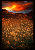 Portrait of a Petroglyph by narmansk8