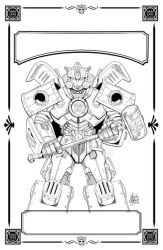 Transformers Hearts of Steel New TPB Cover by GuidoGuidi