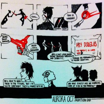 aOCT: Audition 5 by scribblesigEe