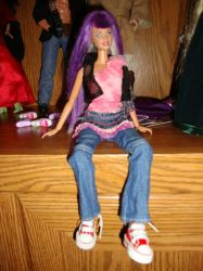 OOAK doll: Nymphadora Tonks by the-flying-dolphin