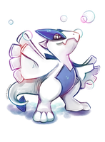 Little Mighty Lugia by Ashewness