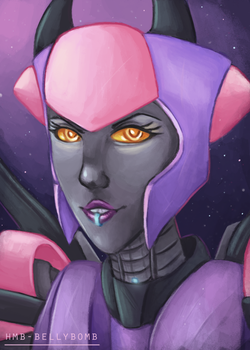 Oracle portrait by HMB-BellyBomb