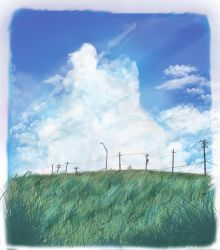 What can you see in the clouds? by Bsaaeko