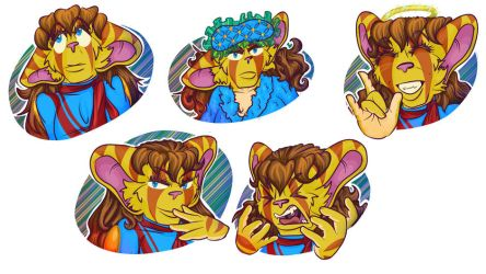 Telegram Stickers - Jigsaw Forte by lastres0rt