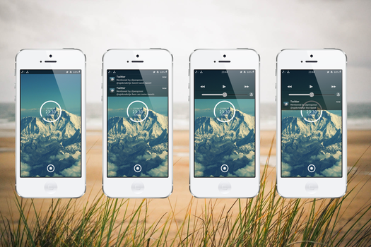 iOS6: Seamless (LS theme add-on) by nienque
