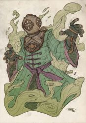 Mysterio Steampunk Re-Design by DenisM79