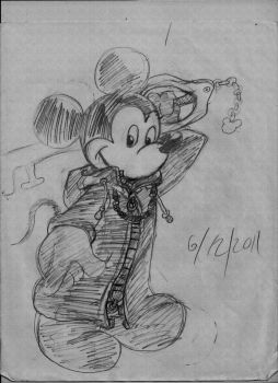 Organzition XIII Mickey Mouse by spiritdetective2010