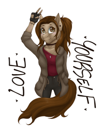 Love Yourself by DollPone