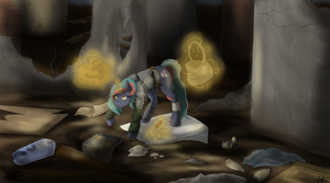Scavenging {Commission+Speedpaint} by ScarletsFeed