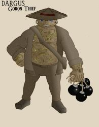 Dargus Goron Thief color by Doofus-the-Cool