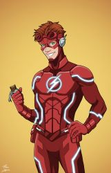 Flash [Wally West] (Earth-27) by phil-cho