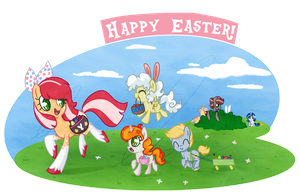 Easter hunt! by Doodleshire