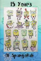 15 years of SpongeBob by ZaneDrake