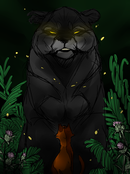 Thistle's Choice WIP by SpiritHoliday