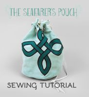 Sewing Tutorial: The Seafarer's Pouch by SewDesuNe