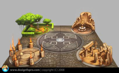 Elemental Monuments by designfxpro