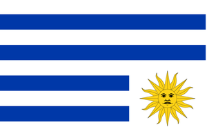 Flag of Uruguay-sad by cmenghi