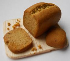 Miniature Bread by geekySquirrel