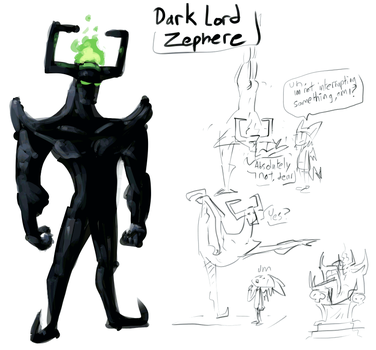 Dark lord Zephere concept by ben-hurr