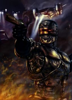 T-800 RoboCop by fromthedead