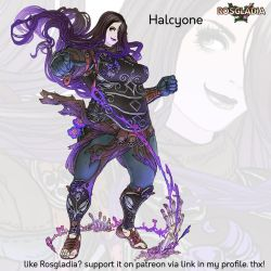 Rosgladia: Halcyone revision by Wen-M