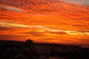 December morning in Sines, Portugal by costins