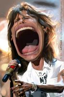Steven Tyler by JeffStahl