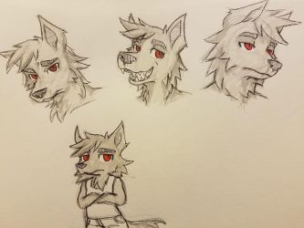Tank's expression practice by raquelravage