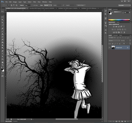 Another Way to do Screentone/Halftone Photoshop by DoujinPress