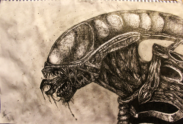The Alien by RussRamos