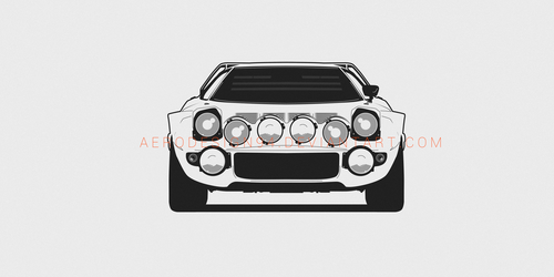 Lancia Stratos by AeroDesign94