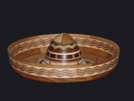 Sombrero - 1100 pieces of wood by woodizgood
