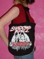 shadows fall tote bag by crafterbynite