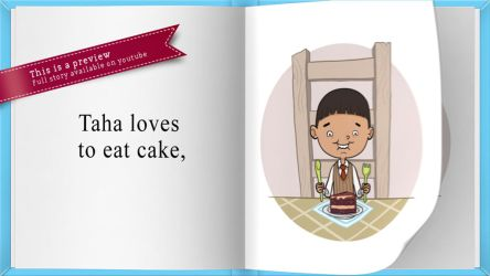 Children's story book: Taha loves to eat by Sheharzad-Arshad