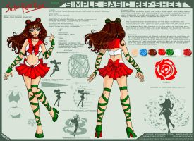 YCH-SBRS: Sailor Rose Red by Lucithea