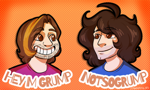 GG: The Grumps by DJLemmiex