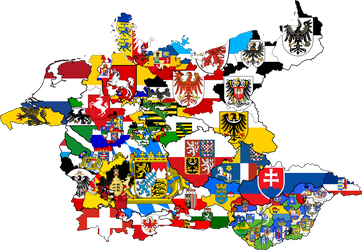 Germany states flag Map (Earth Empire) by RJDETONADOR97