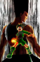 Gon Freecss Evil Aura by MCAshe