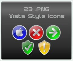 23 .PNG Vista Style Icons by Wearwolfaa