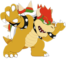 Bowser by MollyKetty