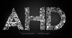 AHDesign - Typography by AHDesigner
