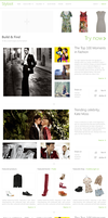 Styloot Homepage Concept by eXPerienceARTS