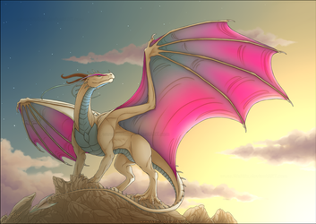 The Dusk of A Dragon by Waittiz