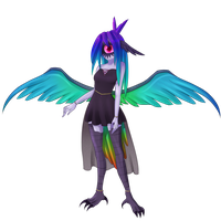Luminita the Hummingbird: Avezlees MYO Event by IvyDarkRose