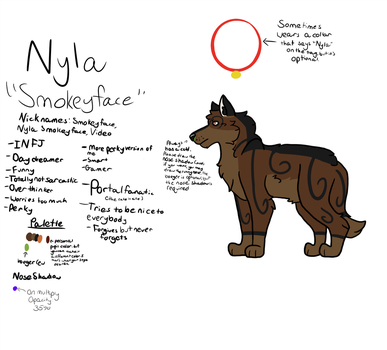 Nyla (reference for now) by AnimalLover670