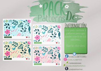 ~.Pack de Patterns #10 by ISirensDesigns