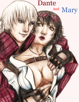 Dante and Mary by DarkDiaryPeeker